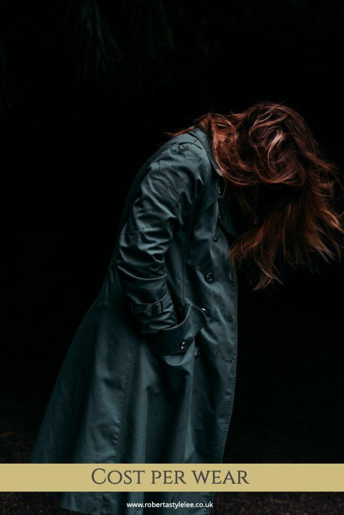 Women in Trench Coat | Cost Per Wear Blog | Roberta Style Lee | London fashion Stylist
