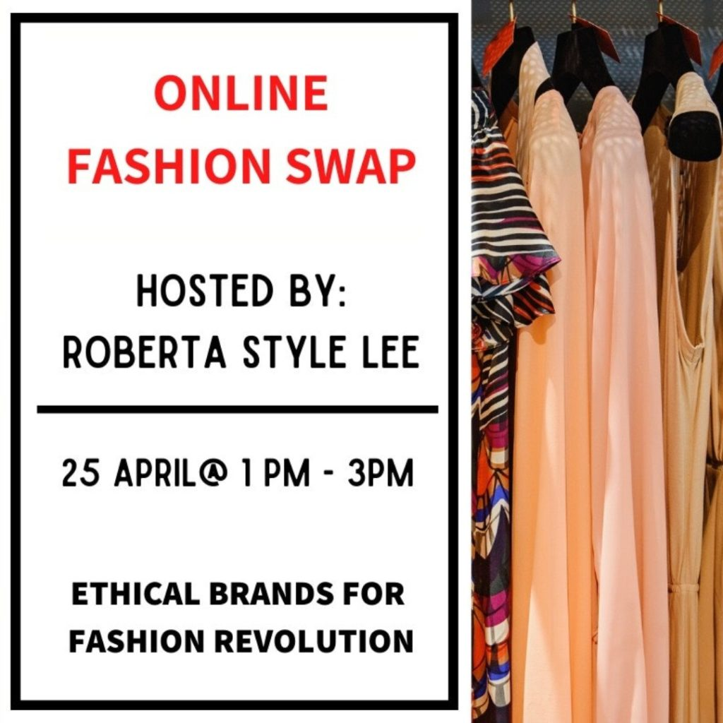 Roberta Style Lee | Online Clothes Swap Shop | Fashion Revolution