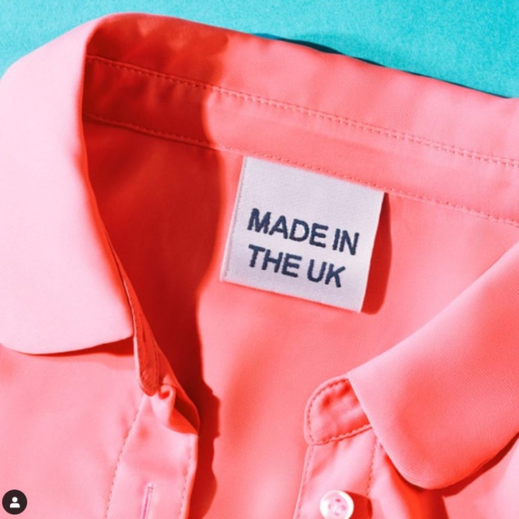 Roberta Style Lee | Quality Garments | Pink Shirt Made in the UK