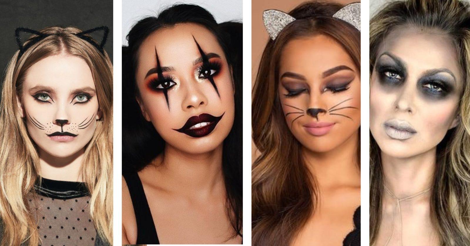 sustainable Halloween costumes - make up image