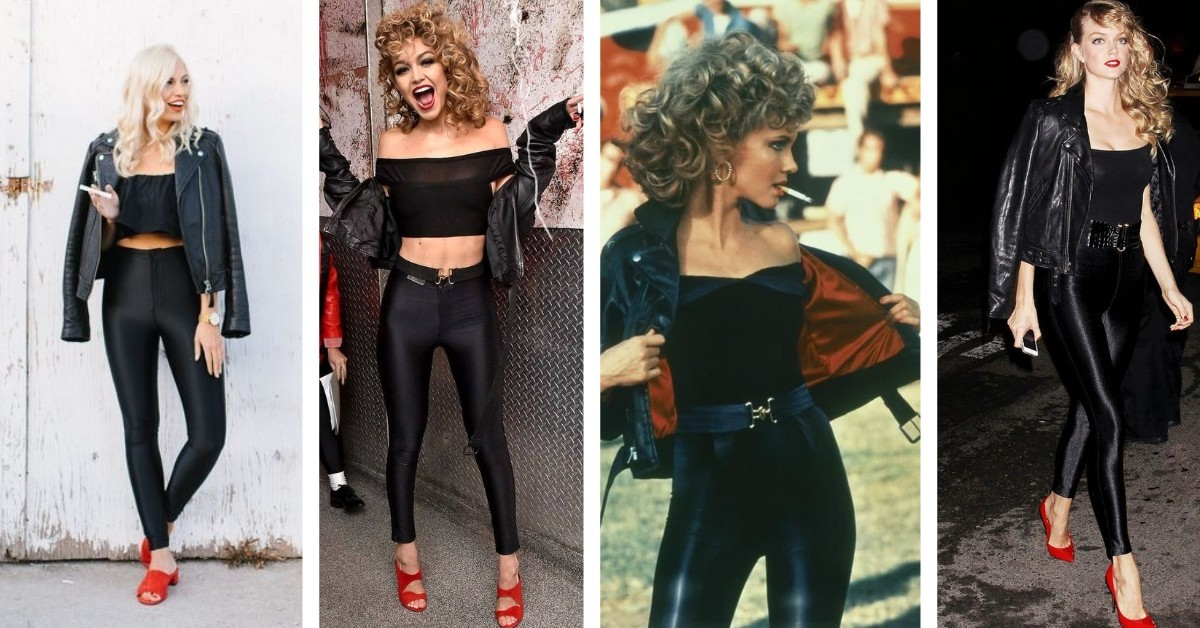 sustainable Halloween costumes - sandy from grease image
