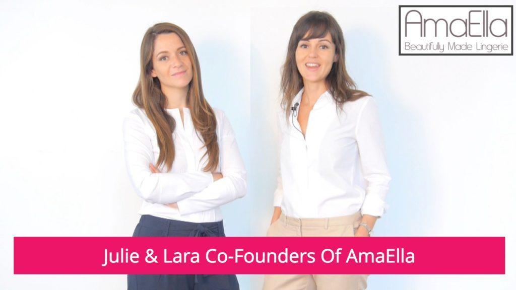 Julie and Lara Co-Founders of AmaElla