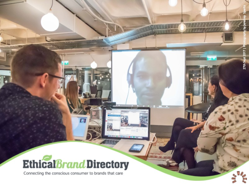 Live streamed from Canada was Akhil Sivanandan the founder of Green Story (one of our Sponsors) who spoke about the importance of metrics and transparency in an increasingly sceptical market | Tech supported by: Steve Woody | Photographer Jeremy Sparks