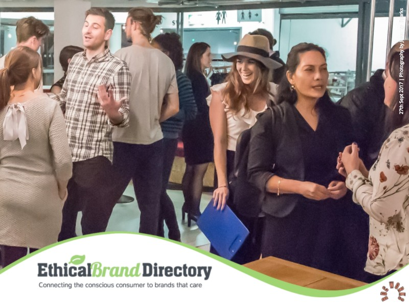 Ethical Brand Directory Live Networking Event With Guest Speakers - Wednesday 27th September 2017 at BDC Works at the Business Design Centre London | Photography Jeremy Sparks
