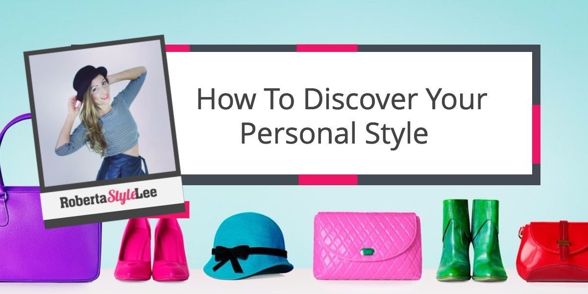 Discover your personal style, Roberta Style Lee Personal Styling course: Your signature style. Pink handbag, Blue Hat, Pink heels.