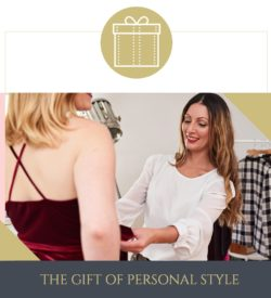 Gift Experience - Gift Voucher - Personal Styling London