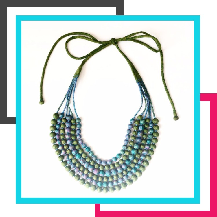 Ethical Brand Directory | Ethical Christmas Gift Guide 2017 | Ethically Made Gift Ideas | Necklace | Jewelled Buddha