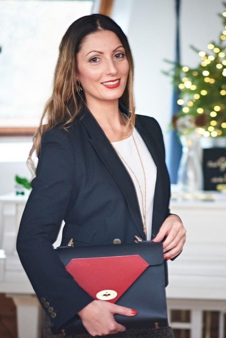 Roberta Lee, Stylist, Speaker & Founder of Ethical Brand Directory  | Tatum Diamond Handbag