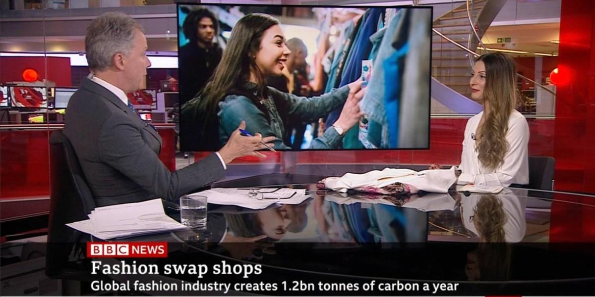 Roberta Lee - Sustainable Stylist on BBC News