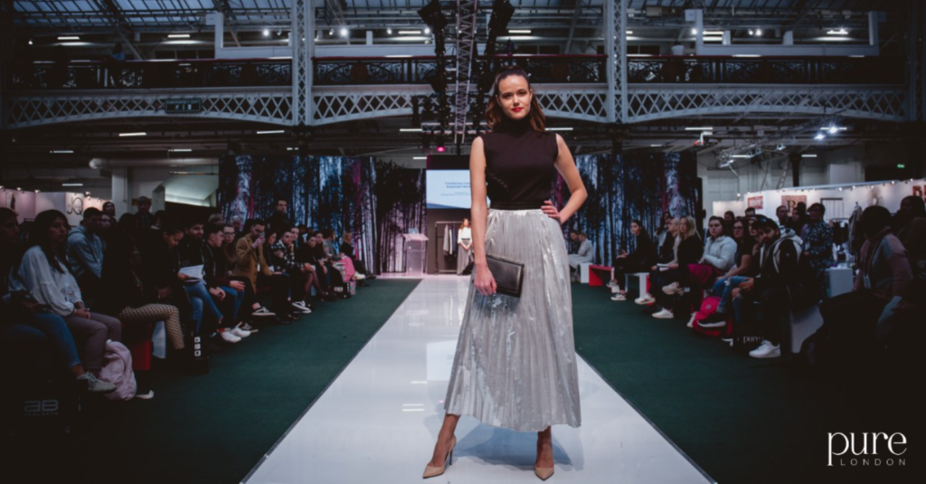 Women's Sustainable Styling Looks – Pure London Catwalk AW2020