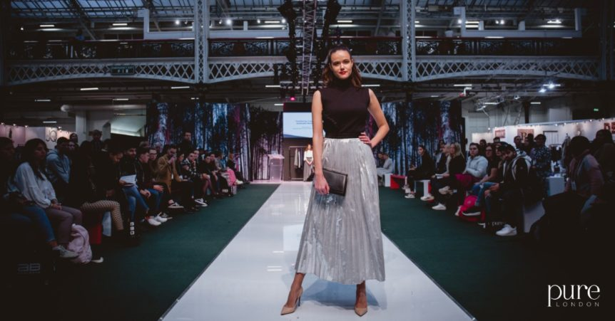 Styled by Roberta Lee | Pure London Stage 2020 | Sustainable Fashion | Catwalk | Amanda Sacro
