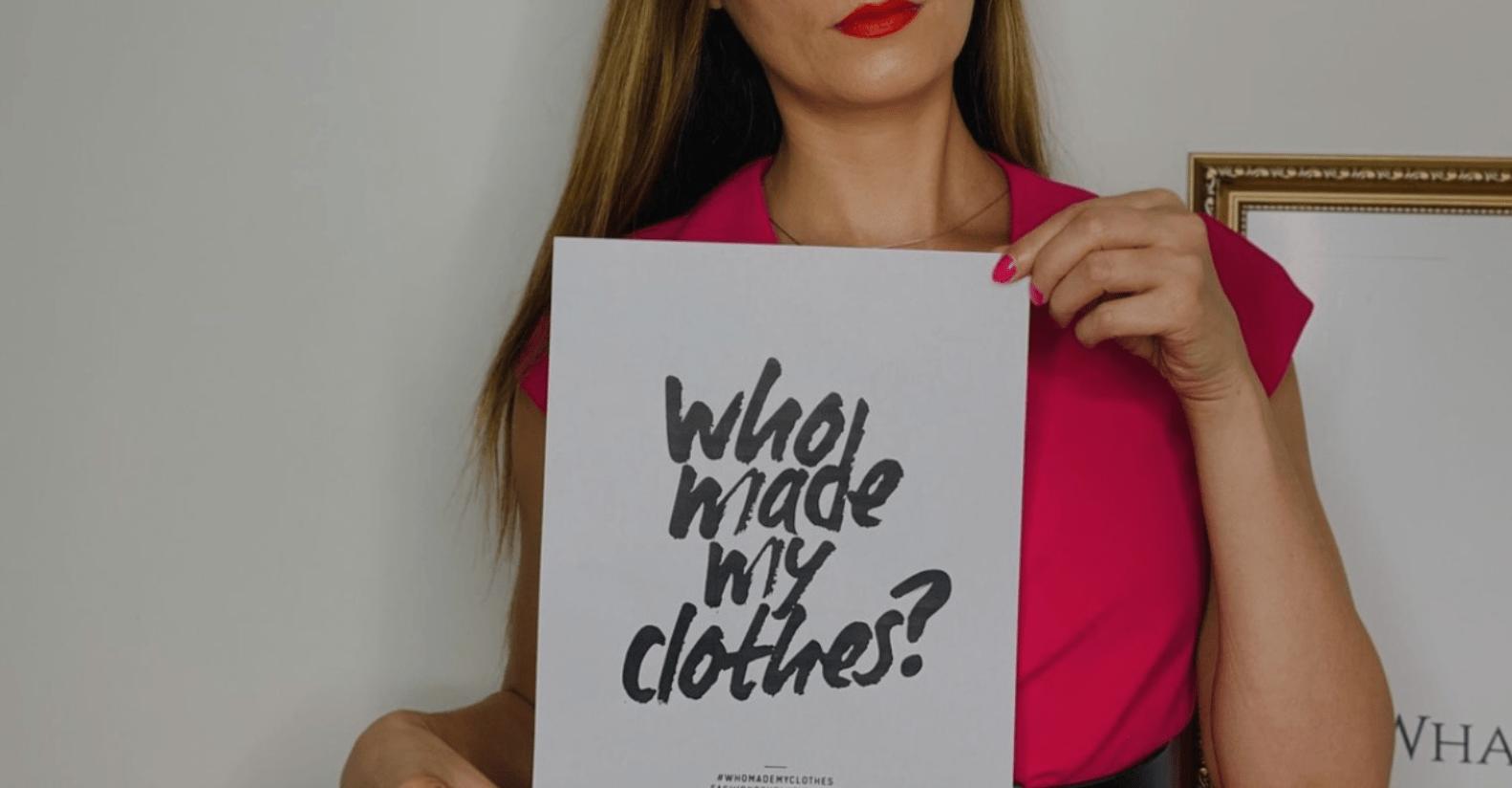 RSL Blog Join The #FashionRevolution