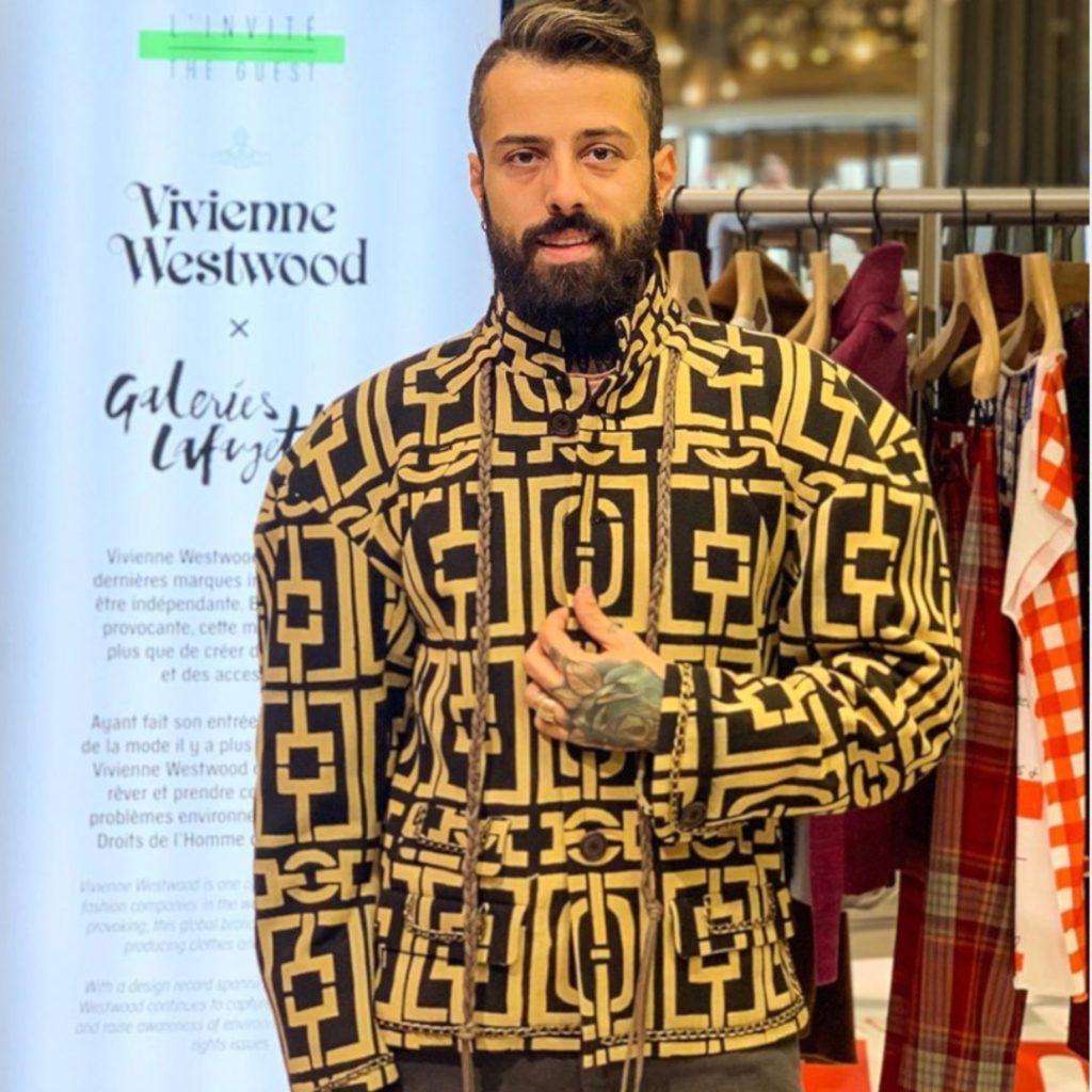 Dan Pontarlier | Sustainable Man | Vivienne Westwood Campaign and Male Model  Wearing Ethical Fashion