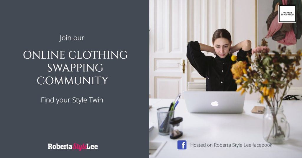 Roberta Style Lee | Online Clothes Swapping Event and Community | Hosted on Facebook