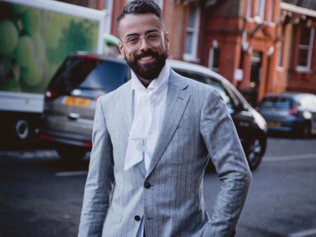 Dan Pontarlier | Pure London Fashion Show 2020 | Ethical and Sustainable Suit and Shirt