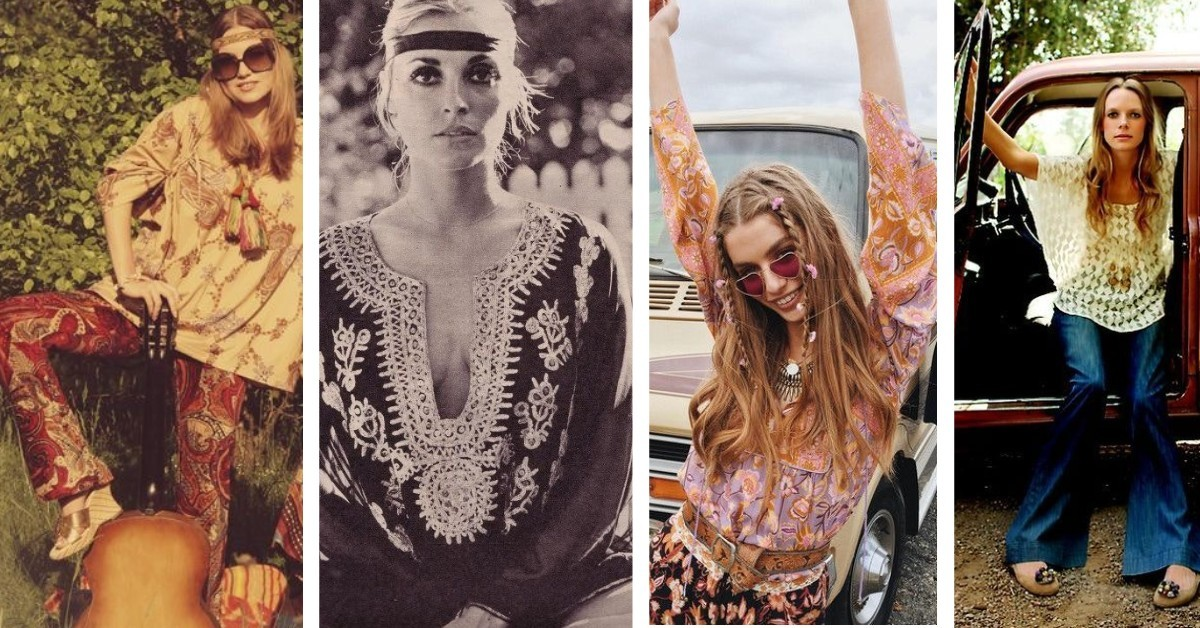 sustainable Halloween costumes - hippy image