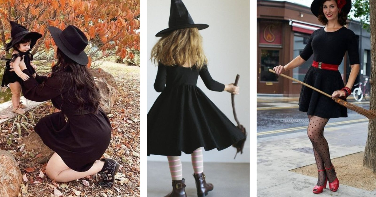 sustainable Halloween costumes - witches image