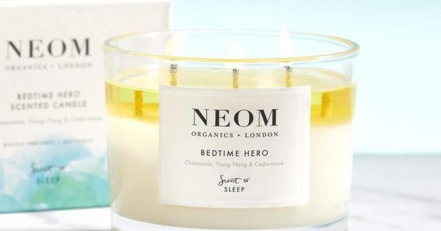 Neom wax candles