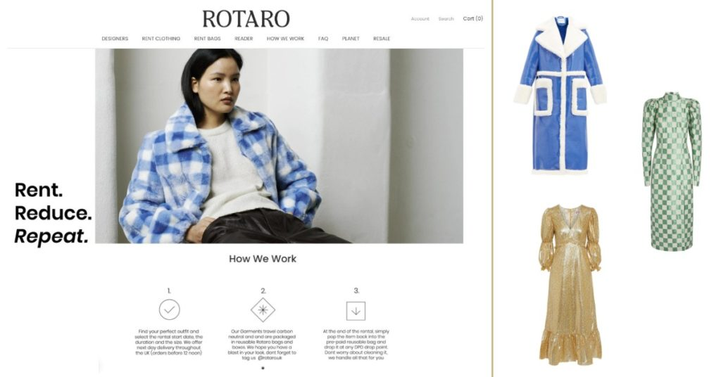 renting clothes | sustainable fashion | where to shop | sharing revolution