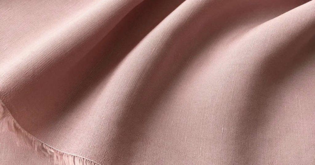 Pink Tencel fabric | Roberta Style Lee sustainable wardrobe series on lyocell