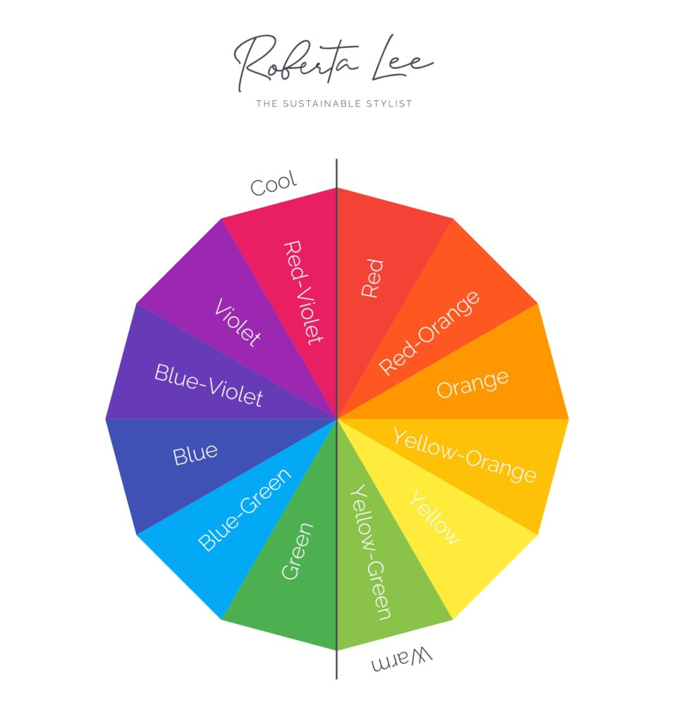 Roberta Style Lee Colour Wheel with Cool and Warm Colours