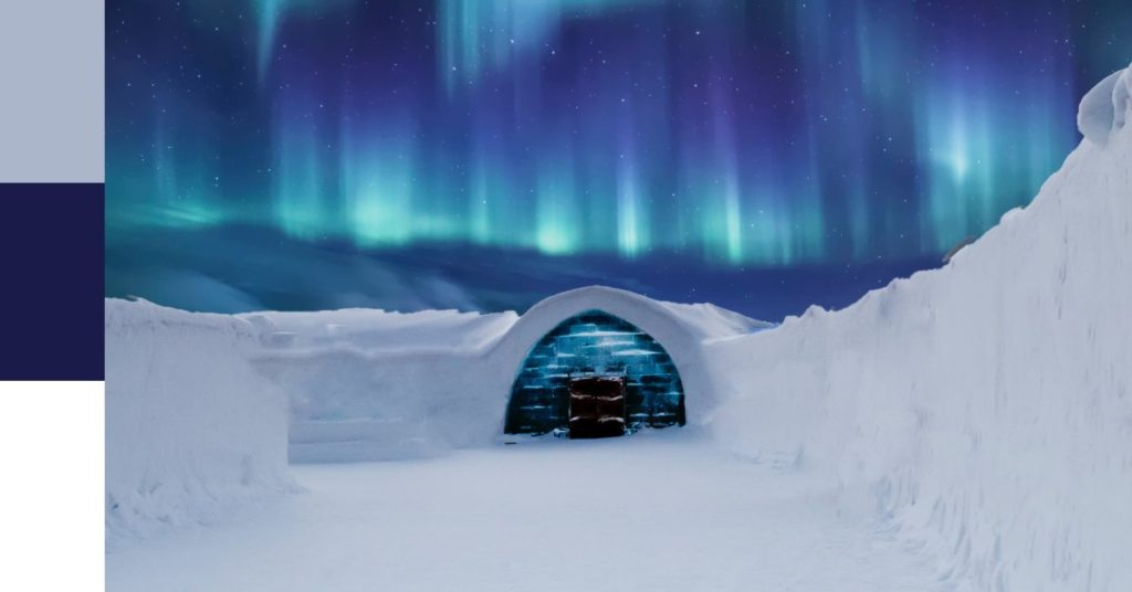 Cool Colour Winter Landscape with Igloo   Cool Colour Definition   What is a Cool Colour?